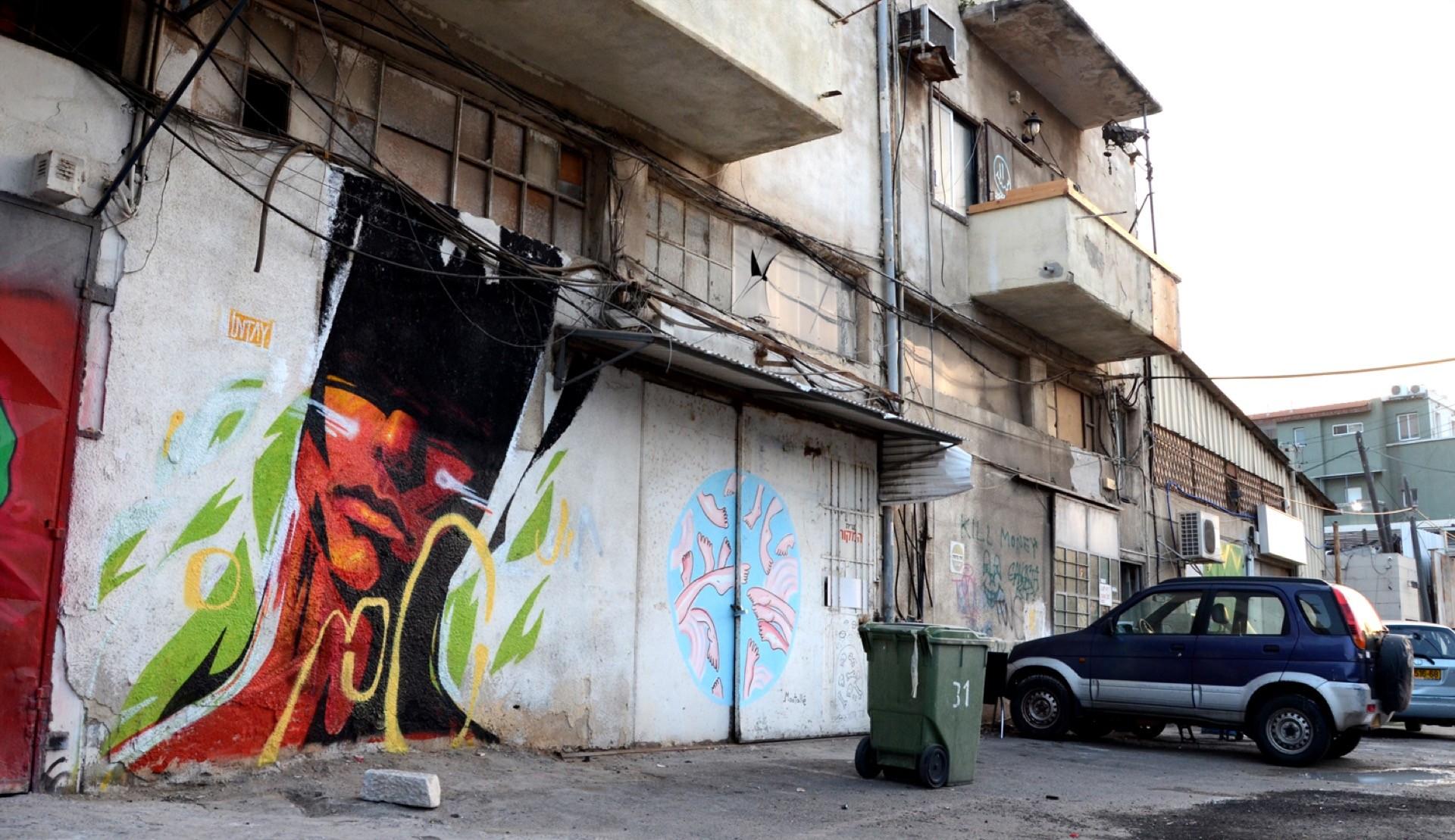 UNTAY mural tel aviv 05