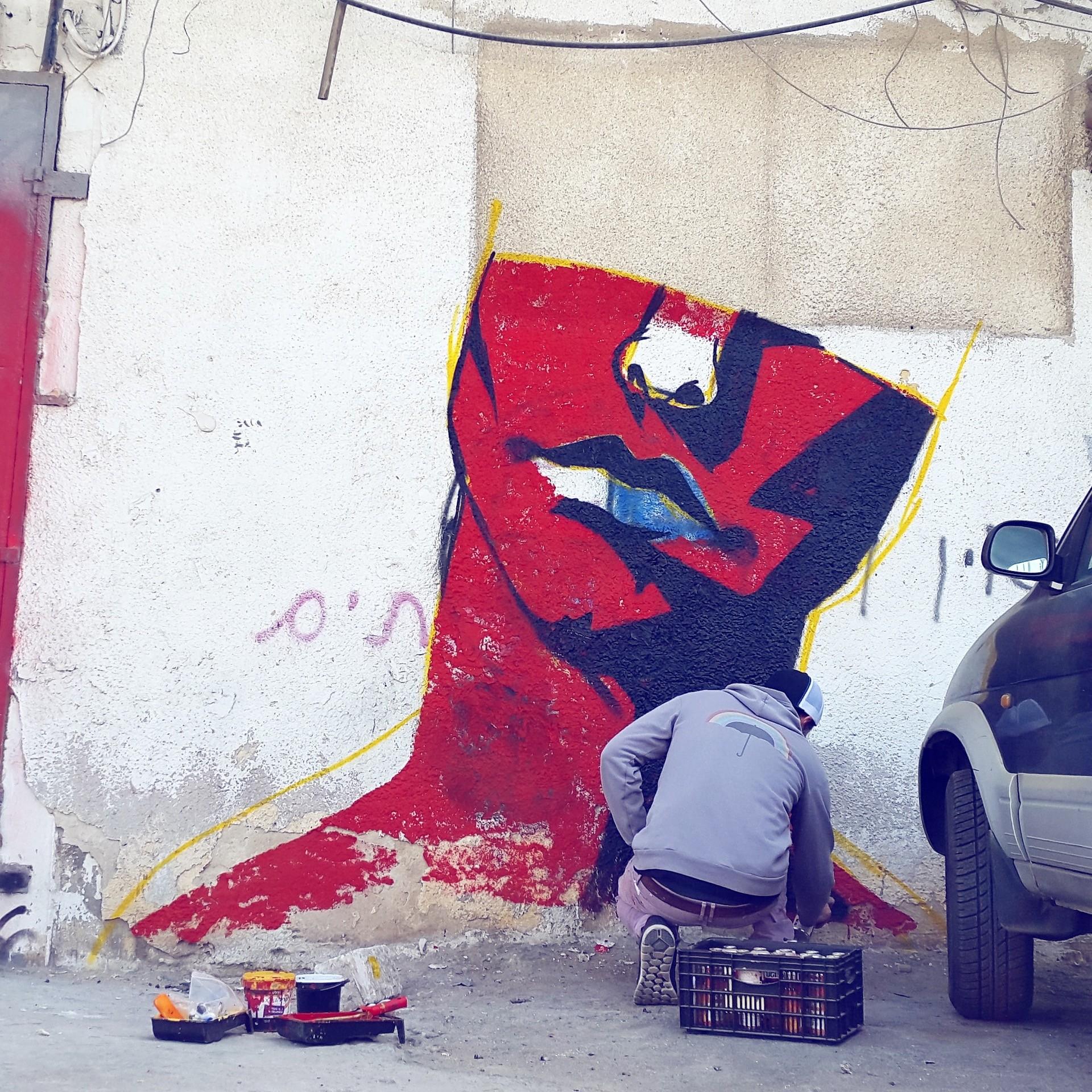 UNTAY mural tel aviv 06