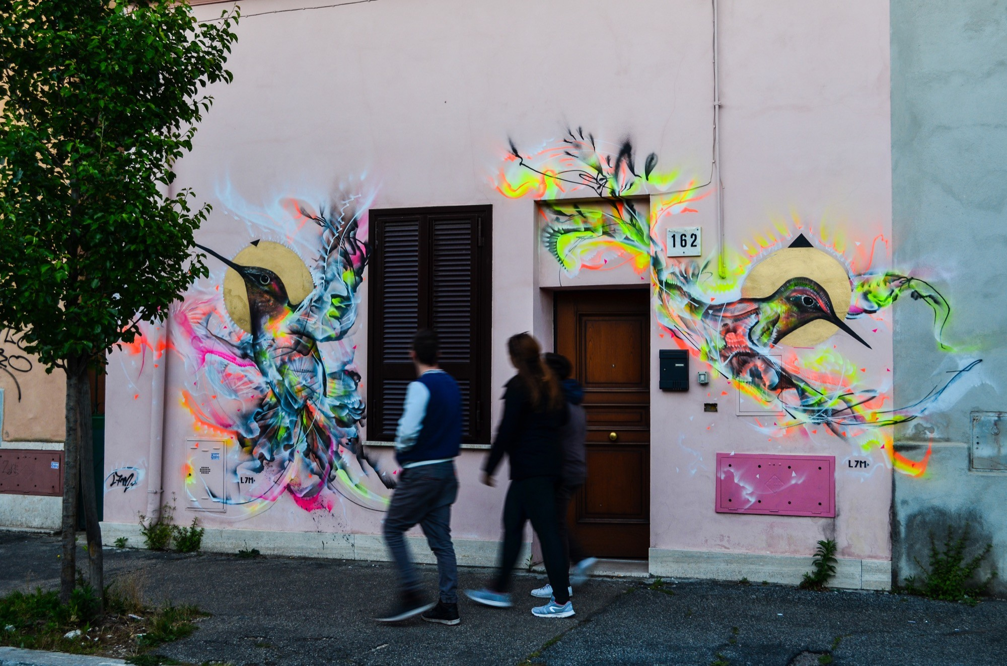 Wall 5 - Quadraro_Roma2