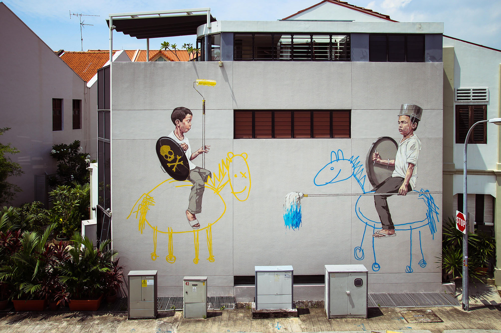 Style Wars, Singapore, 2013 Photo Credit Ernest Zacharevic