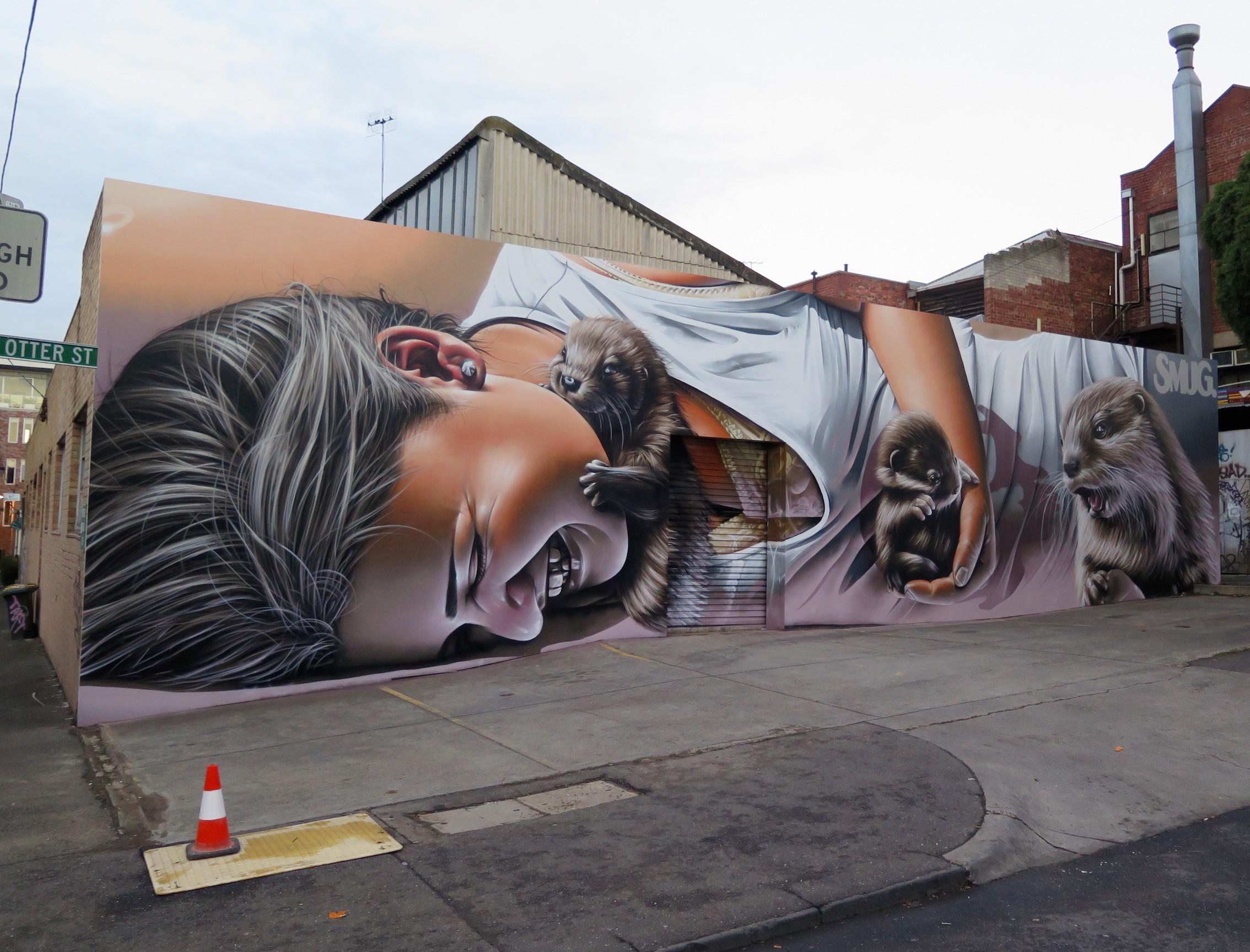 deansunshine_landofsunshine_melbourne_streetart_STREET_ART_NEWS SMUG OTTERS 1